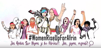 Women Rise Up For Afrin and Grow the Resistance! image