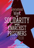International Week of Solidarity With Anarchist Prisoners 2019 // 23 – 30 August image