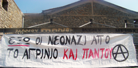 Agrinio, Greece: Direct action against the neo-Nazis image
