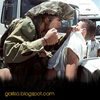 IDF troops film themselves humiliating bound Palestinian- απιστευτο βιντεακι.. image