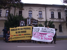 Solidarity statement and protest with the evicted squats in Thessaloniki by comrades in Ljubjana, Slovenia image